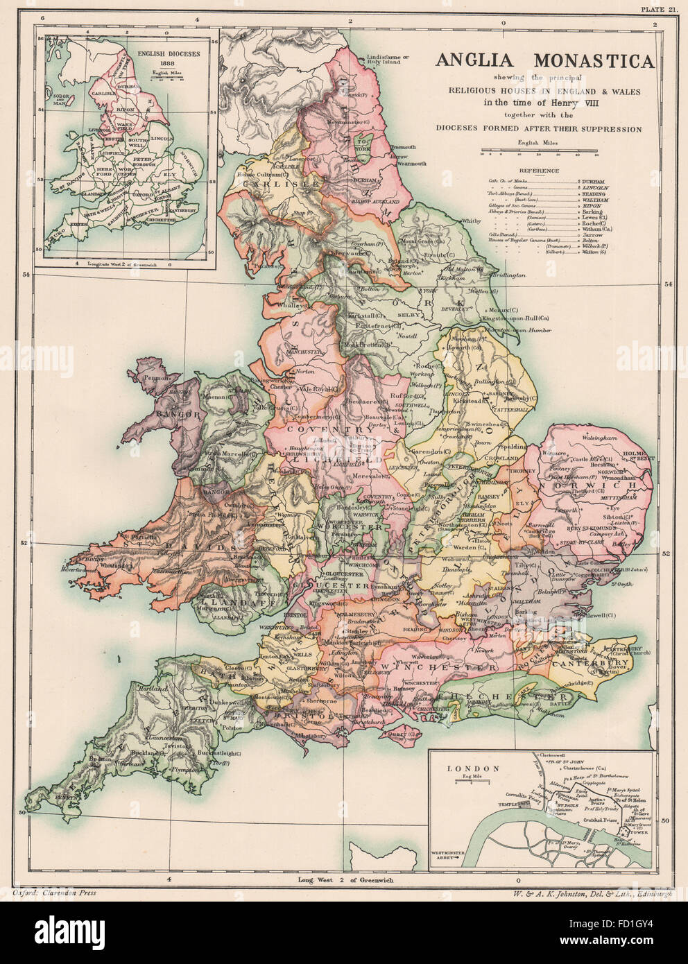 Map Of England Henry Viii.Dissolution Of Monasteries England Henry Viii Dioceses Formed
