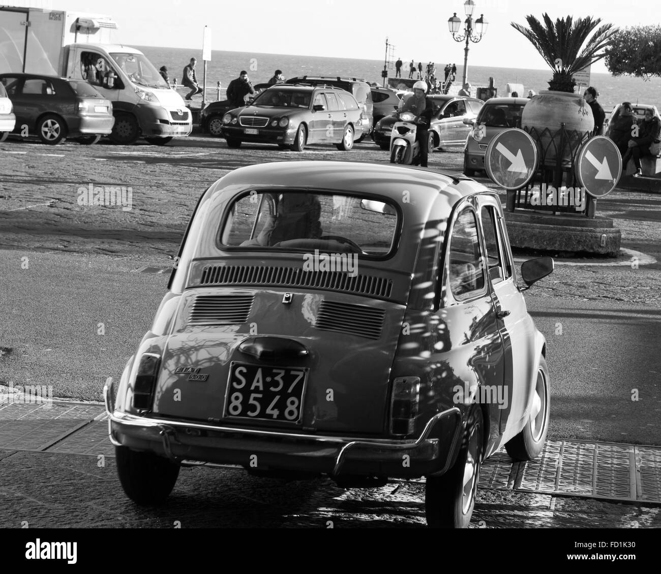Vintage Fiat 500 Stock Photos & Vintage Fiat 500 Stock