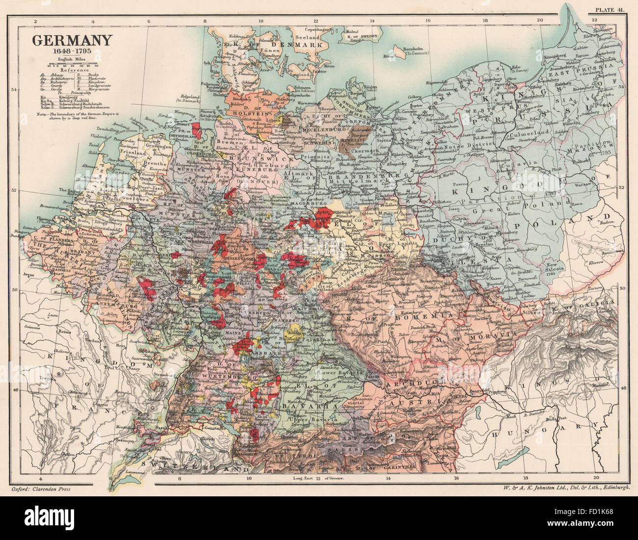 GERMANY 1648 1795 17th and 18th century Germany