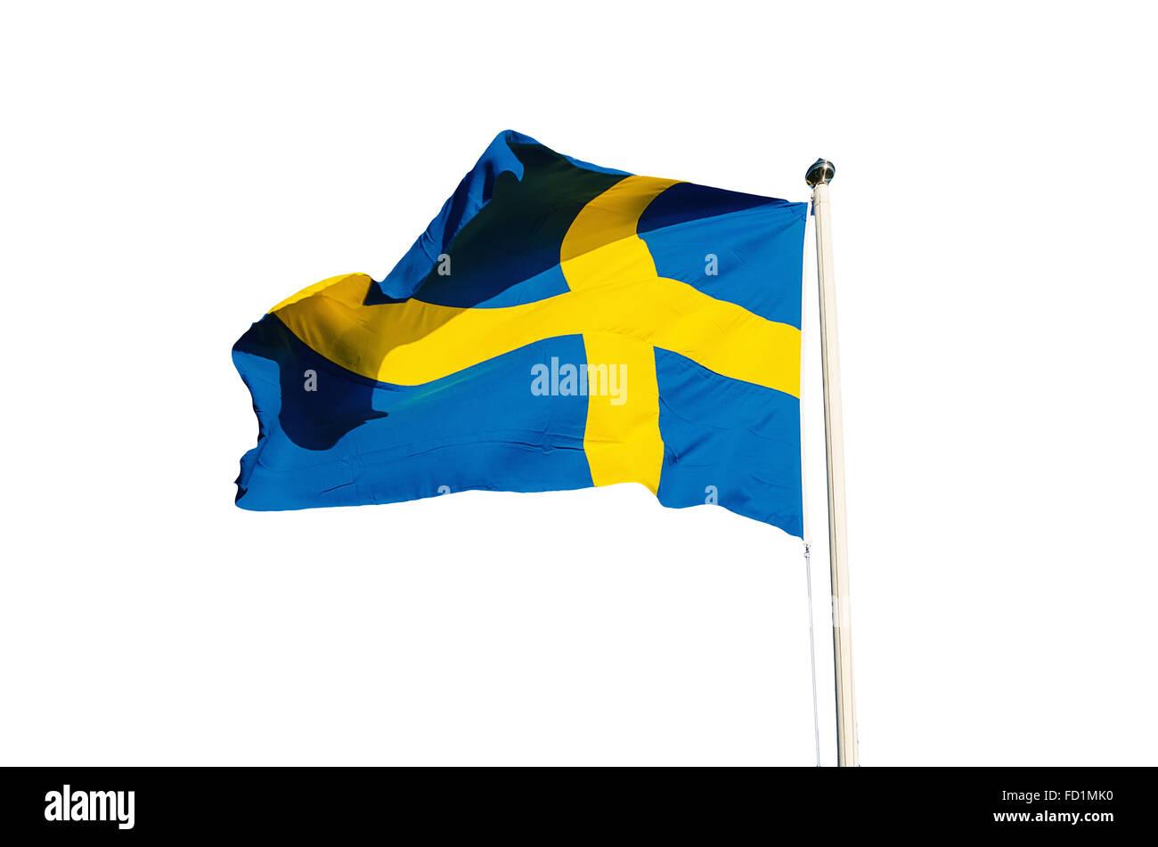 Flag of Sweden - Stock Image