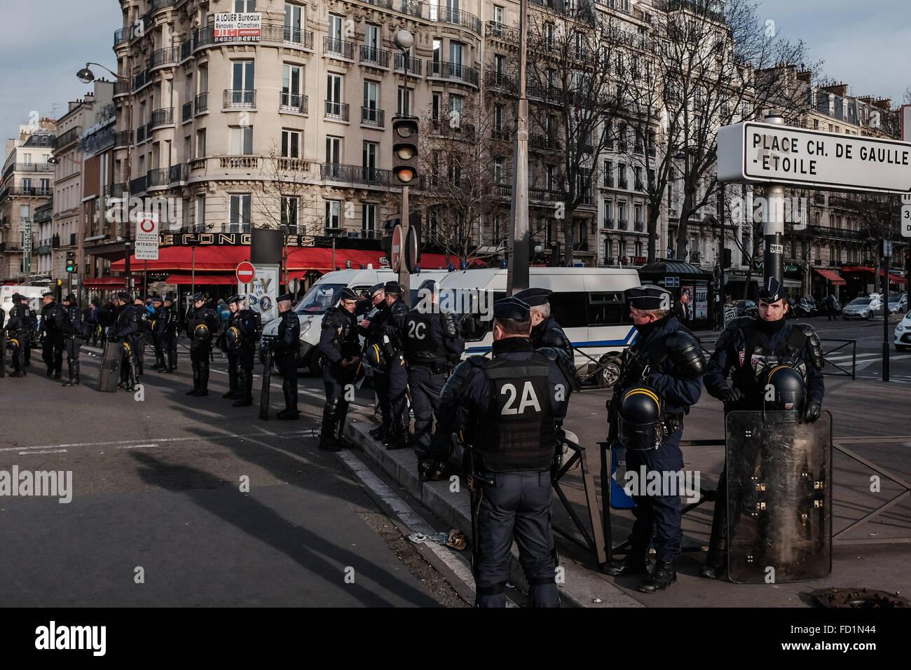 Maj manifestation de vtc devant les bureaux d uber france