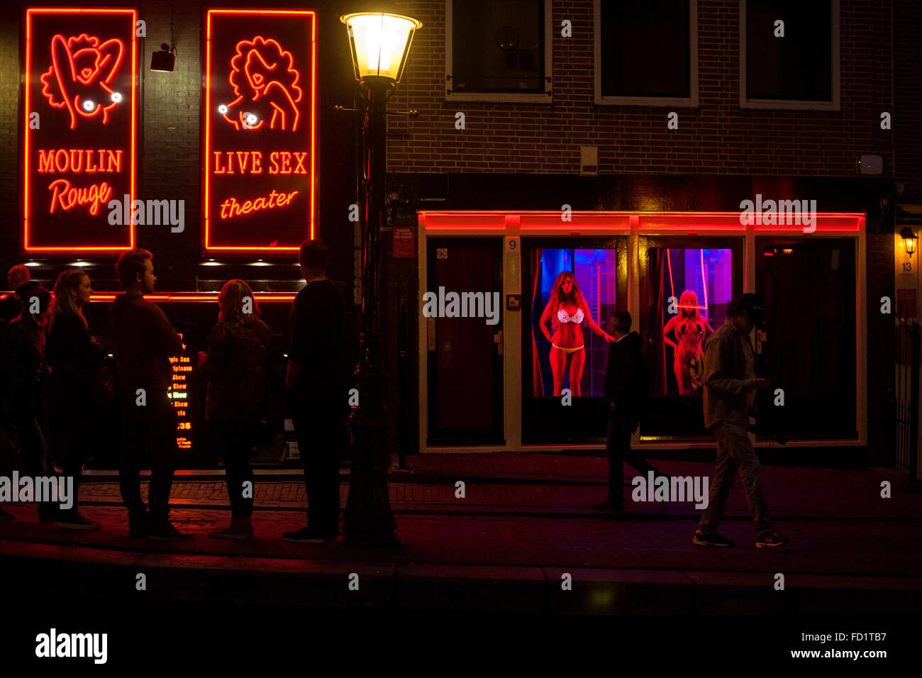 District prostitutes amsterdam light red Amsterdam Red
