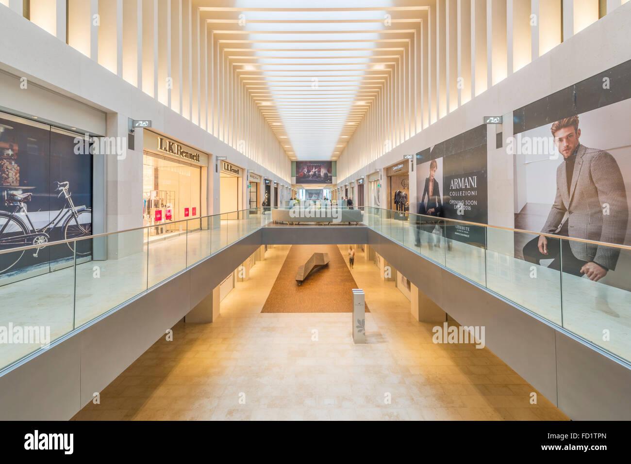 The Mailbox shopping centre, Birmingham, England, UK. - Stock Image
