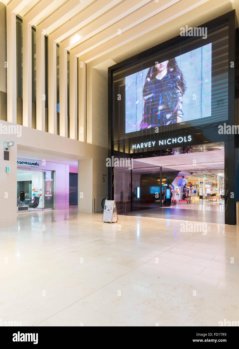 Harvy Nichols at The Mailbox shopping centre, Birmingham, England, UK. - Stock Image
