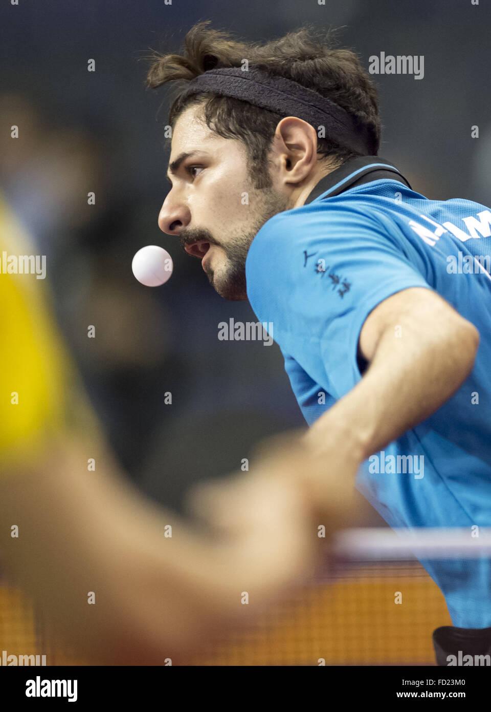 Schreiner Berlin frane kojic of croatia plays against schreiner from germany during