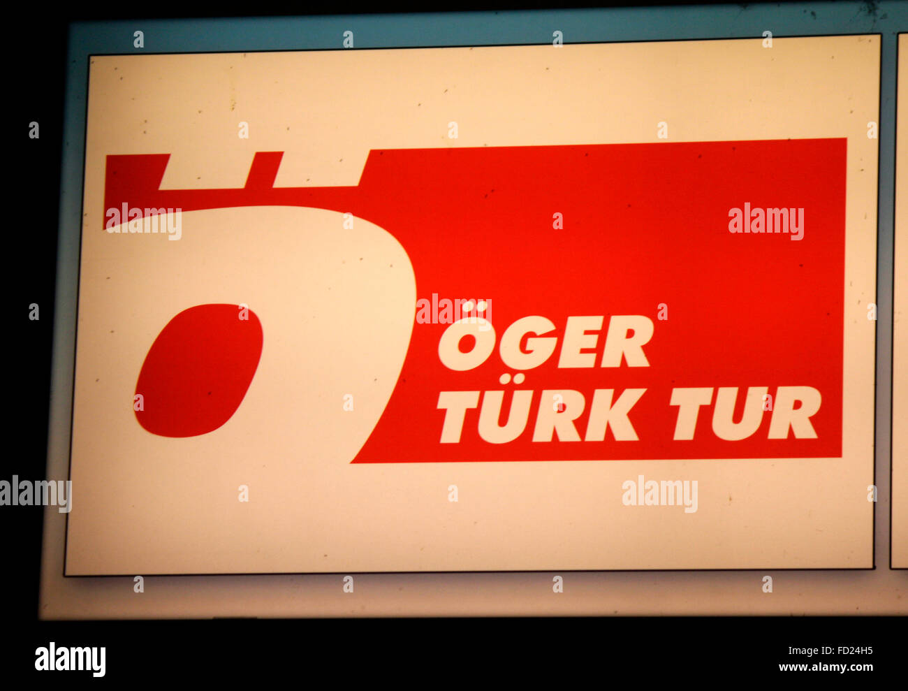 "Markenname: ""Oeger Tuerk Tur"" , Berlin. Stock Photo"