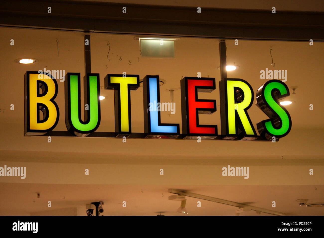 Markenname Butlers Berlin Stock Photo 94090550 Alamy