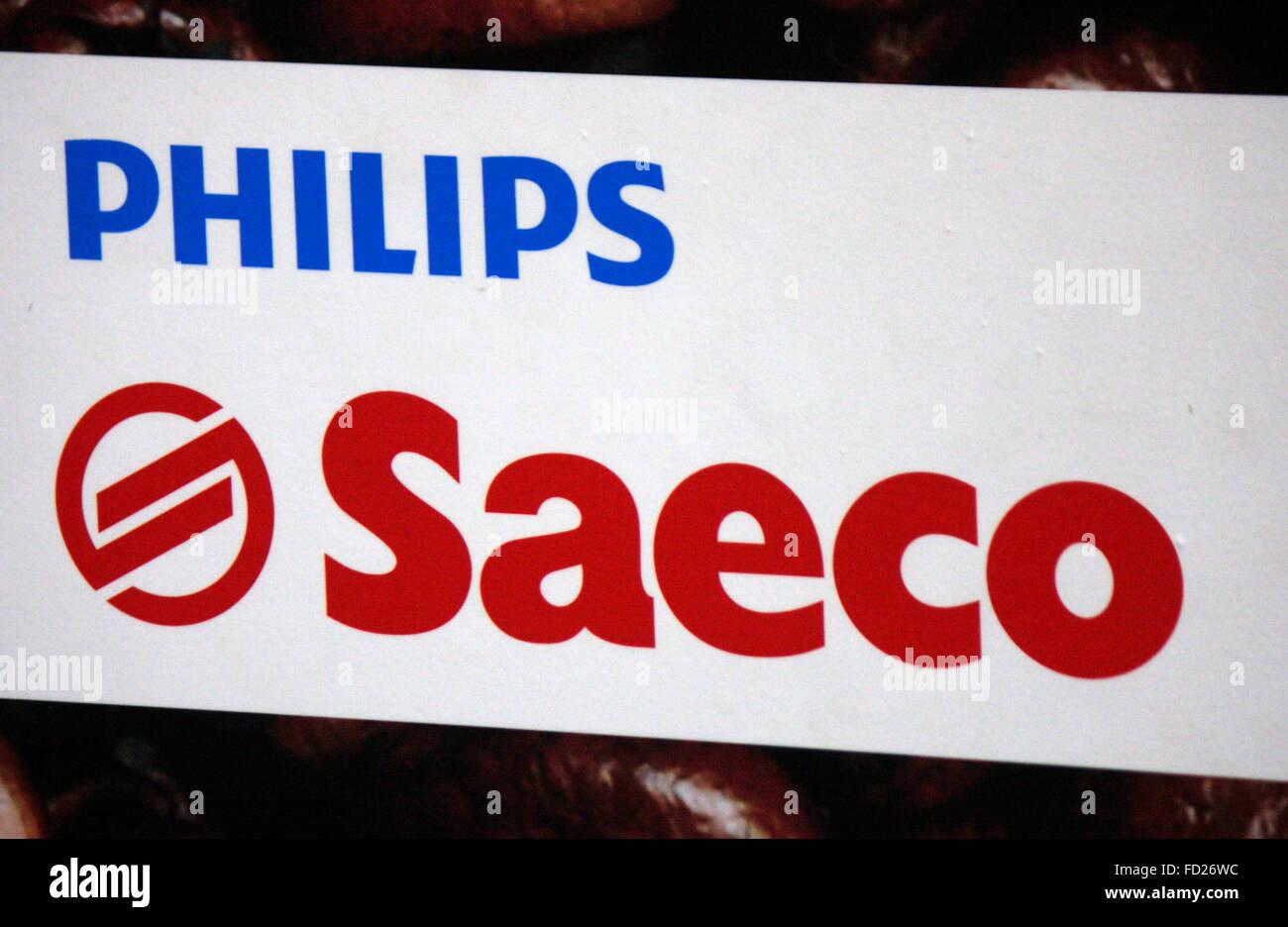 Markenname: 'Philips Saeco', Berlin. - Stock Image