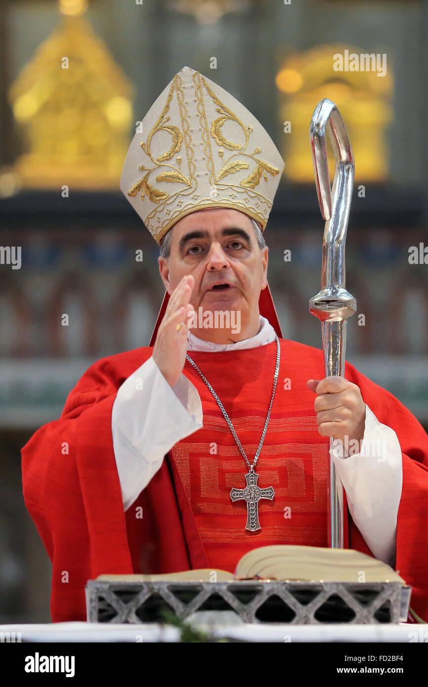 Archbishop Dr. Nikola Eterović, Apostolic Nuncio in Germany - Stock Image