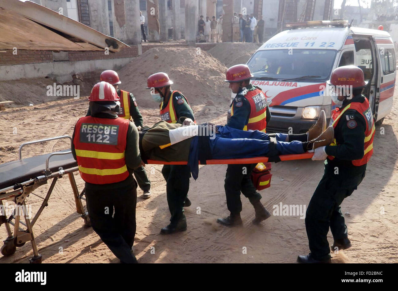 Rescue 1122 volunteers take part in Emergency Exercises to test their  capabilities to combat any miss-eventuality held at Khawaja Muhammad Safdar  Medical ...
