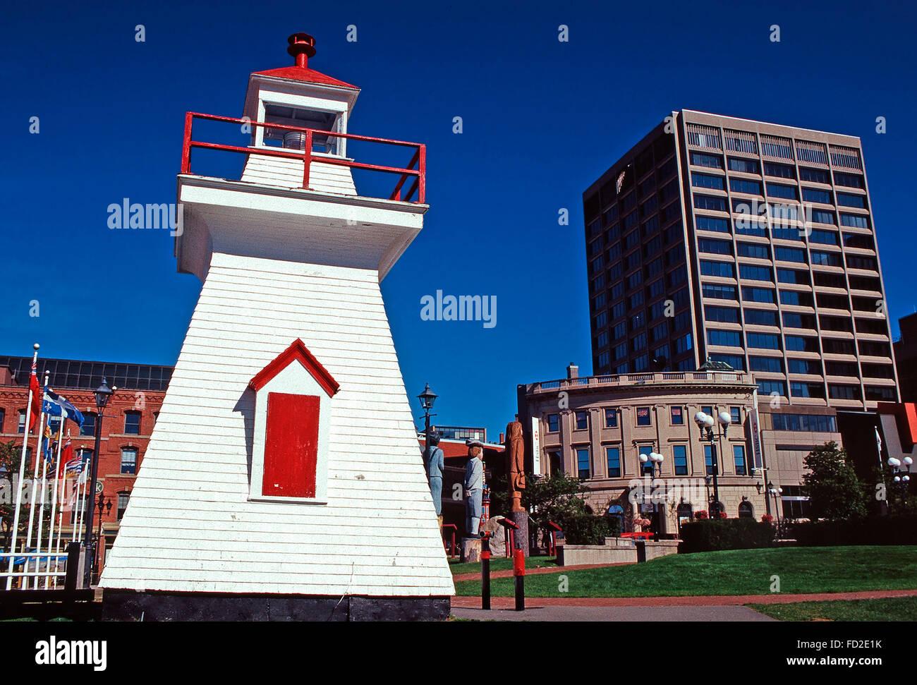 Loyalist Plaza,Saint John,New Brunswick - Stock Image
