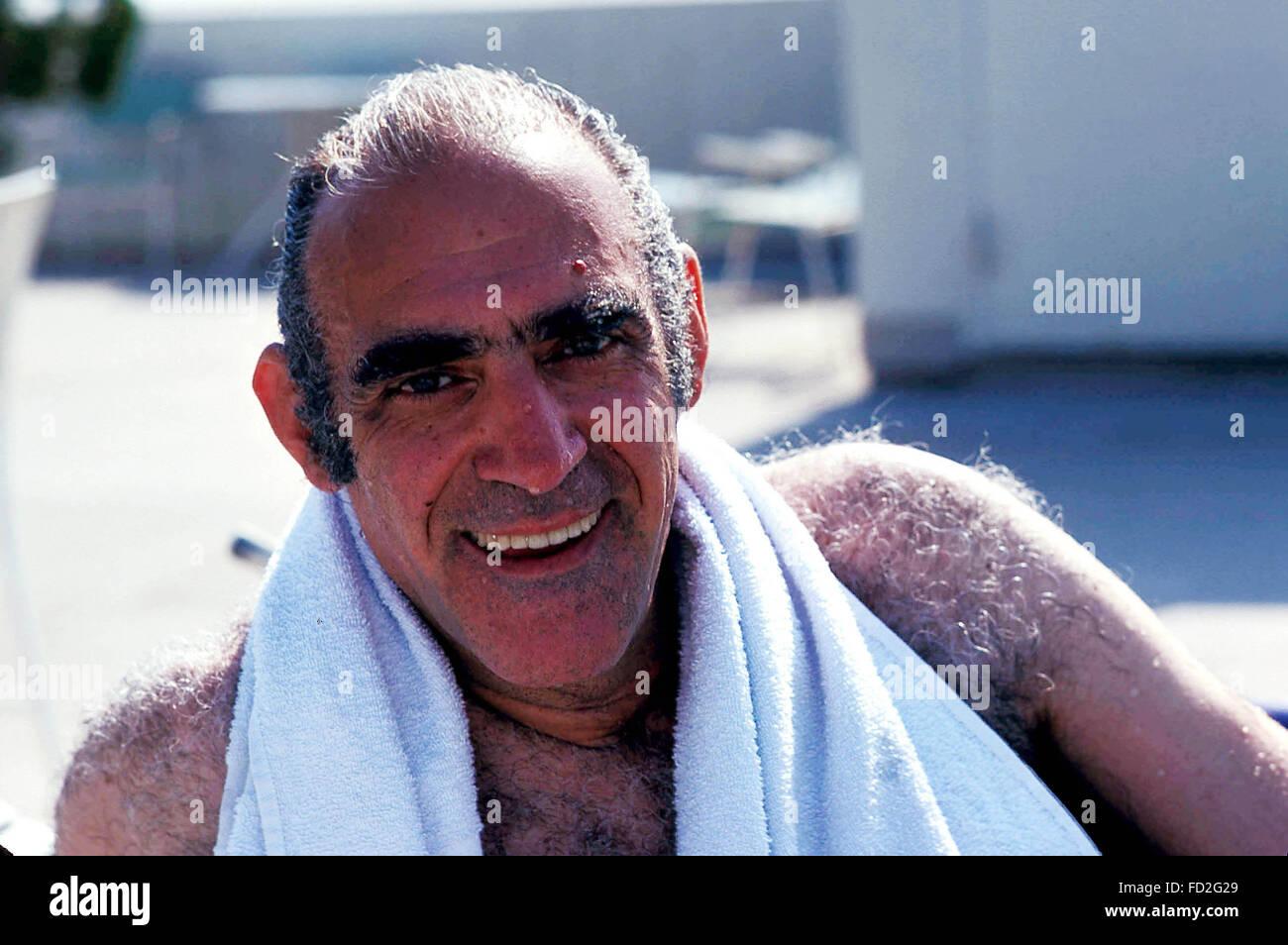 Actor ABE VIGODA Who Played The Decrepit Detective Phil Fish In Television Sitcom Barney Miller And Mafia Lieutenant Sal Tessio Original