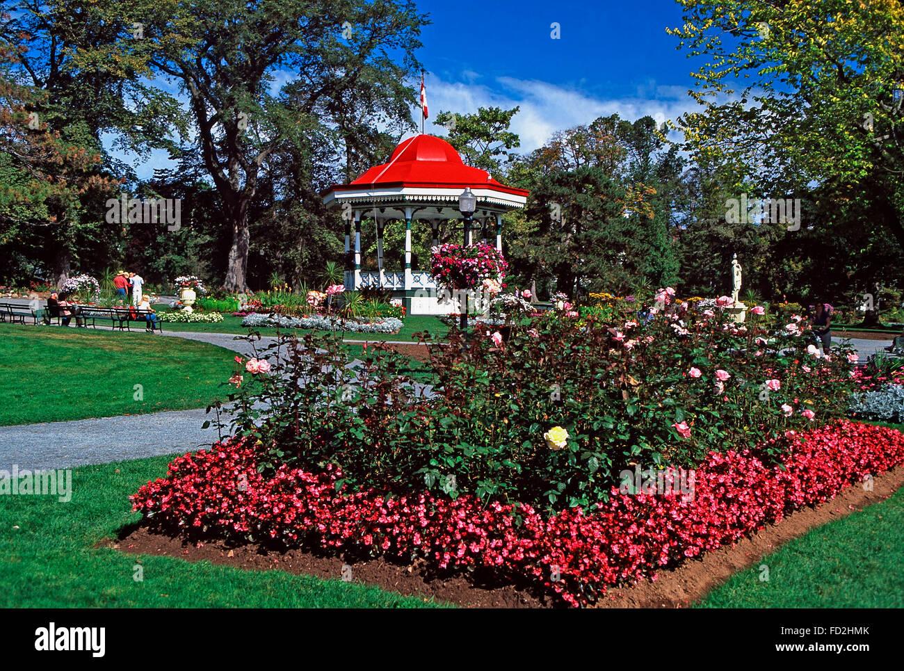 Halifax Public Gardens,Nova Scotia - Stock Image