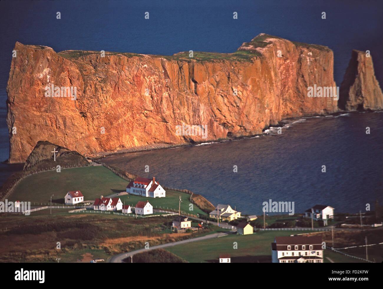 Perce Rock,Gaspe Peninsula,Quebec - Stock Image