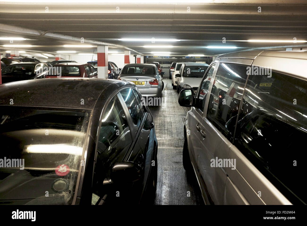 Cars Parked In Multi Storey Car Park High Resolution Stock Photography And Images Alamy