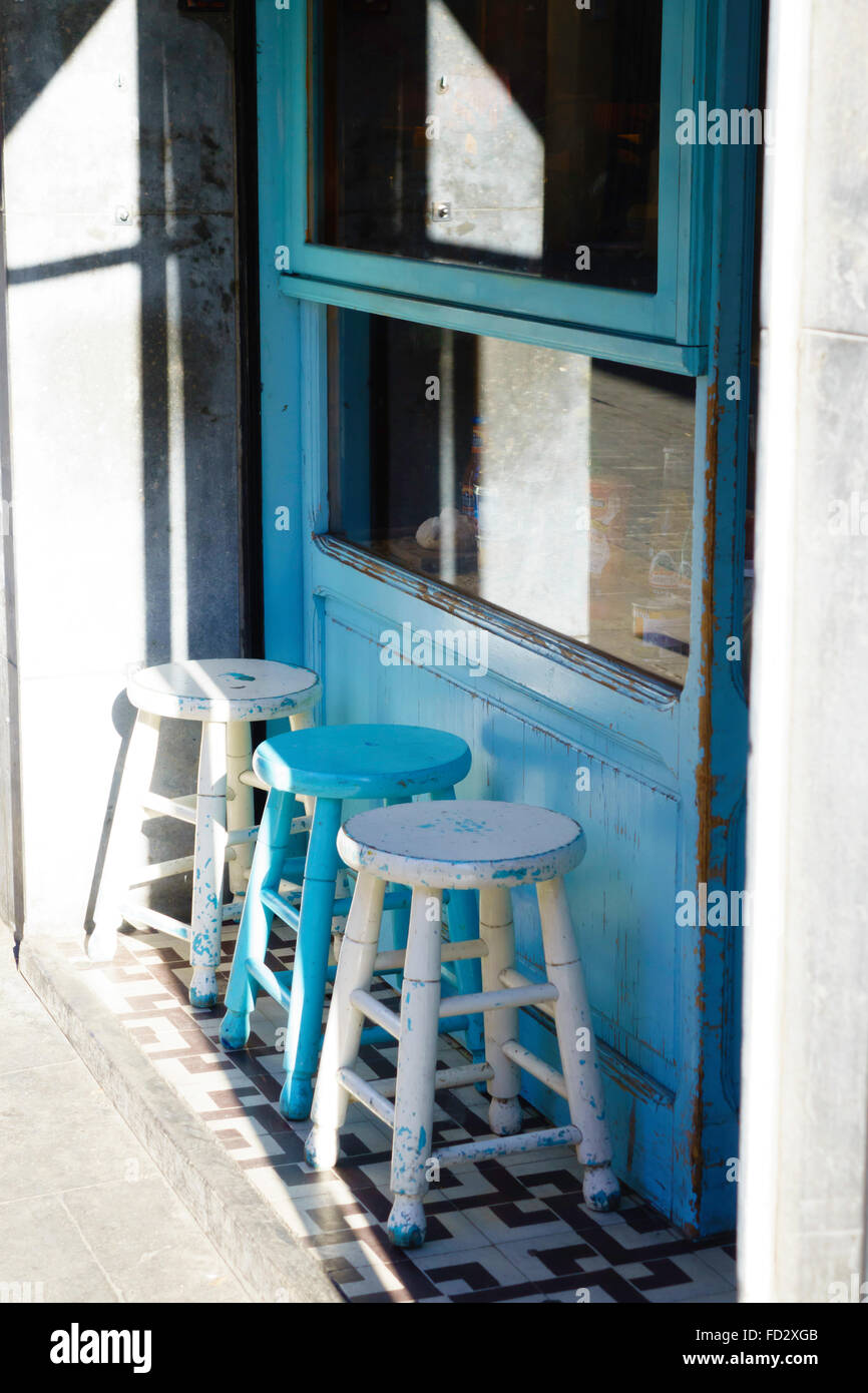 Wooden Stools Stock Photos & Wooden Stools Stock Images - Alamy