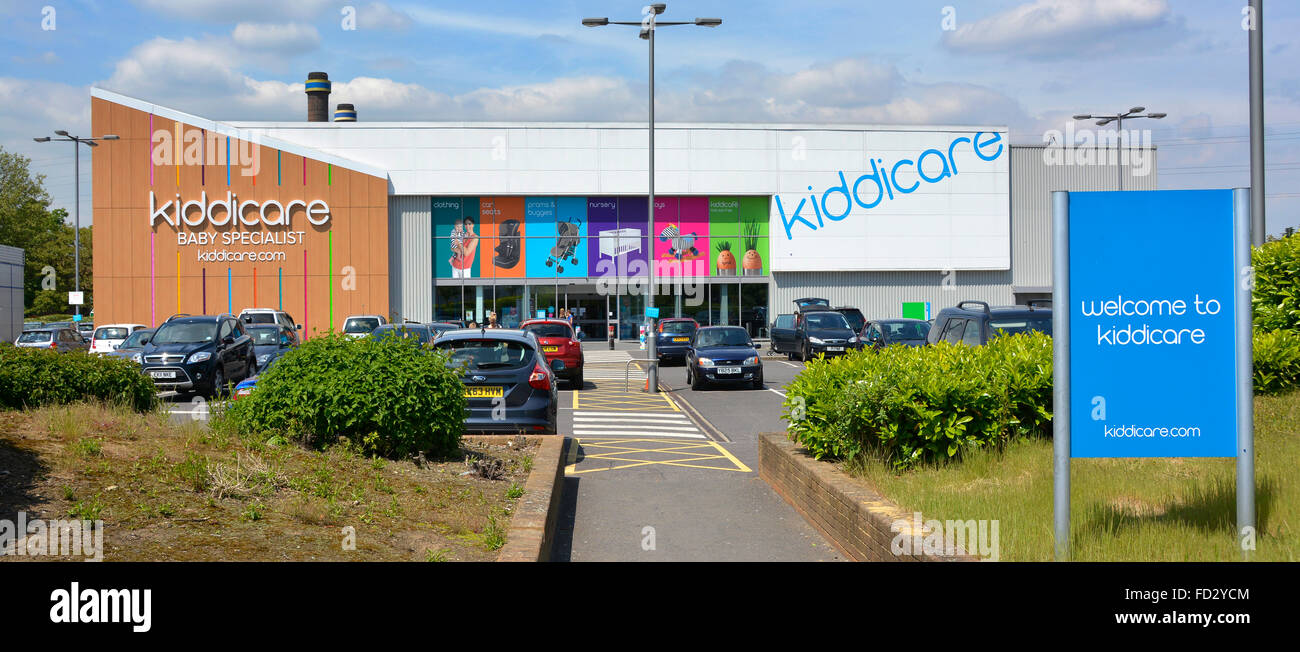 Kiddicare Waddon Marsh Croydon South London England UK - Stock Image