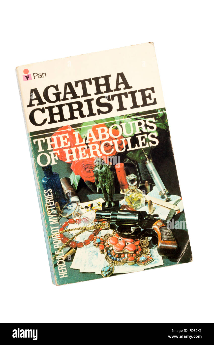 Collins paperback edition of The Labours of Hercules by Agatha Christie.  First published in 1947. - Stock Image
