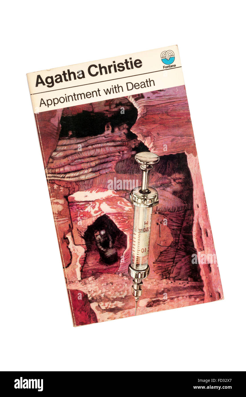 Collins paperback edition of Appointment With Death by Agatha Christie.  First published in 1938. - Stock Image