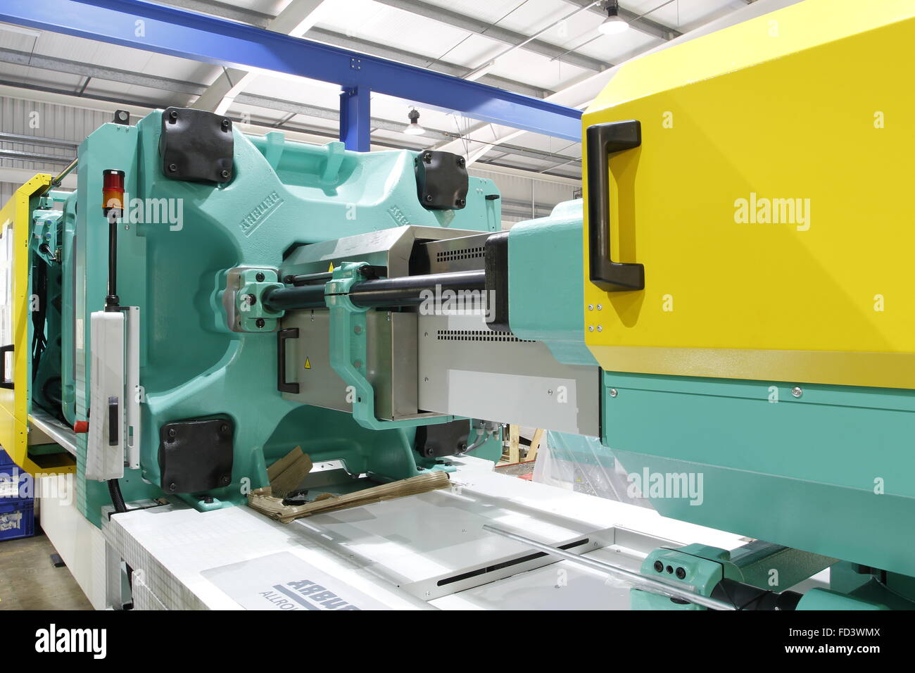 Injection Moulding Machine - Stock Image