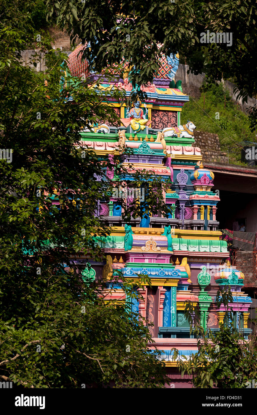 Neelkanth Mahadev Hindu Temple is one of the most revered holy shrines dedicated to Lord Shiva. - Stock Image