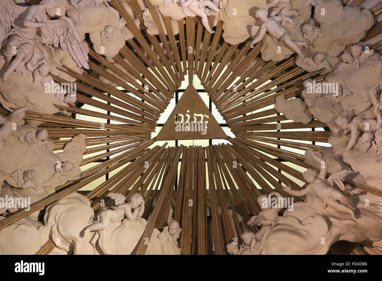 Tetragrammaton Yahweh Stock Photos & Tetragrammaton Yahweh