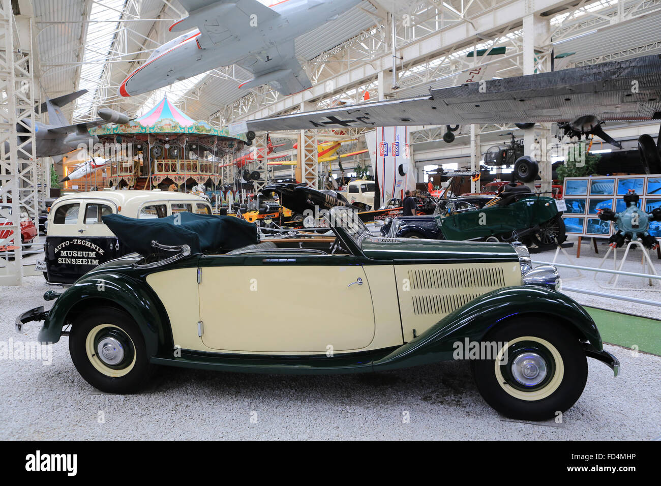 Old cars show. The Speyer Technik Museum Stock Photo: 94146354 - Alamy