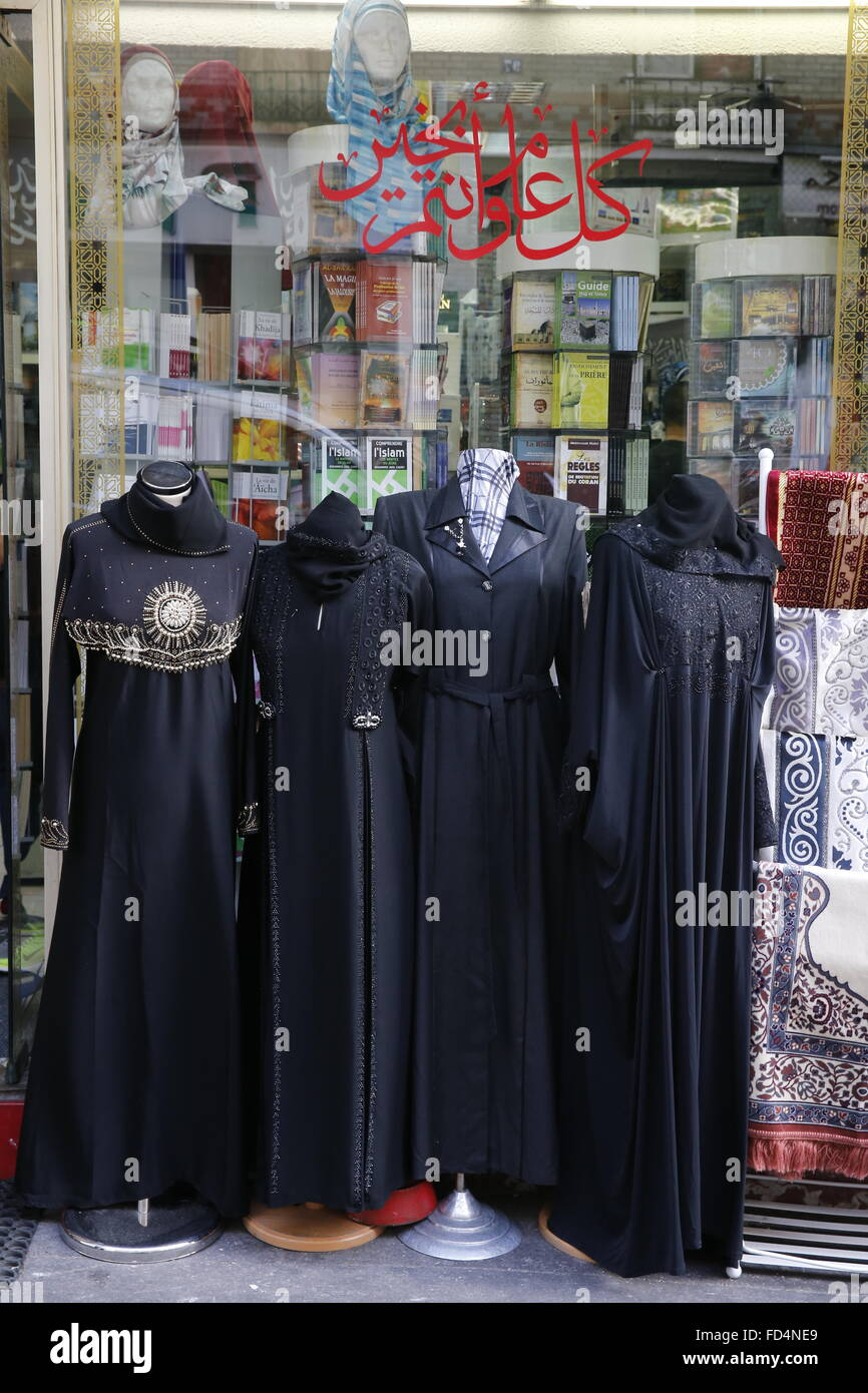 Islamic Clothing Shop High Resolution Stock Photography and Images