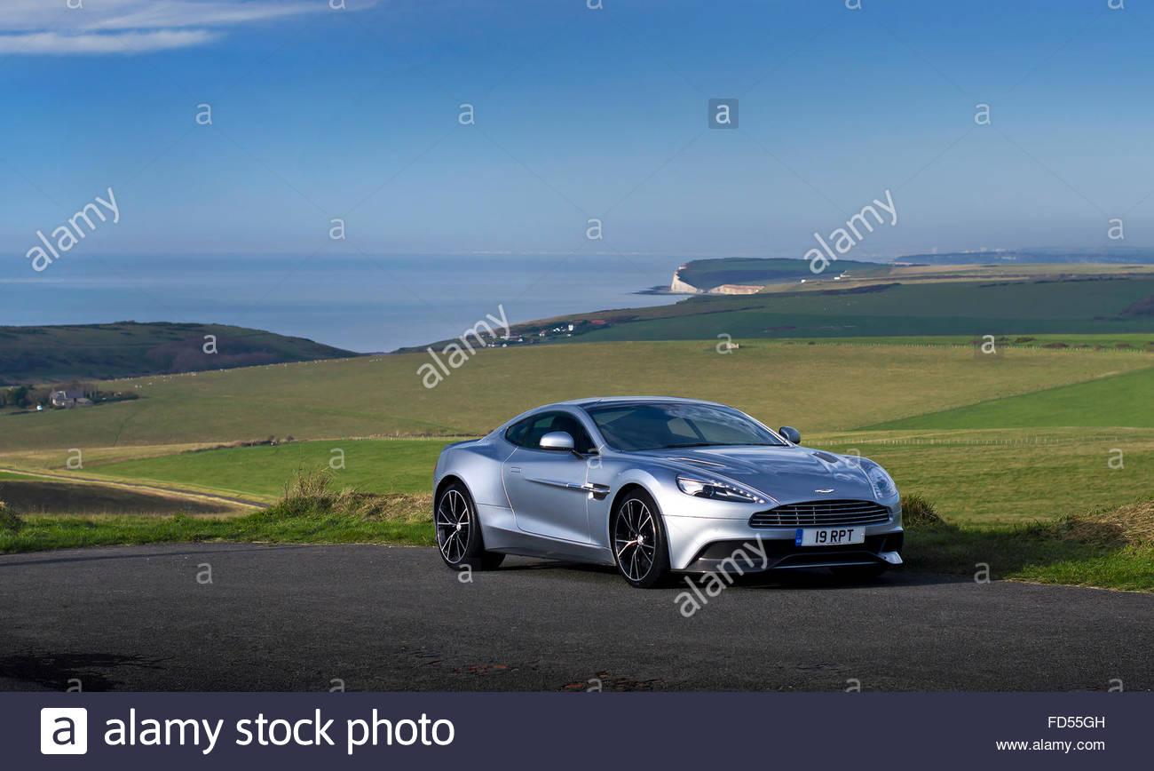 Aston Martin Vanquish - Stock Image