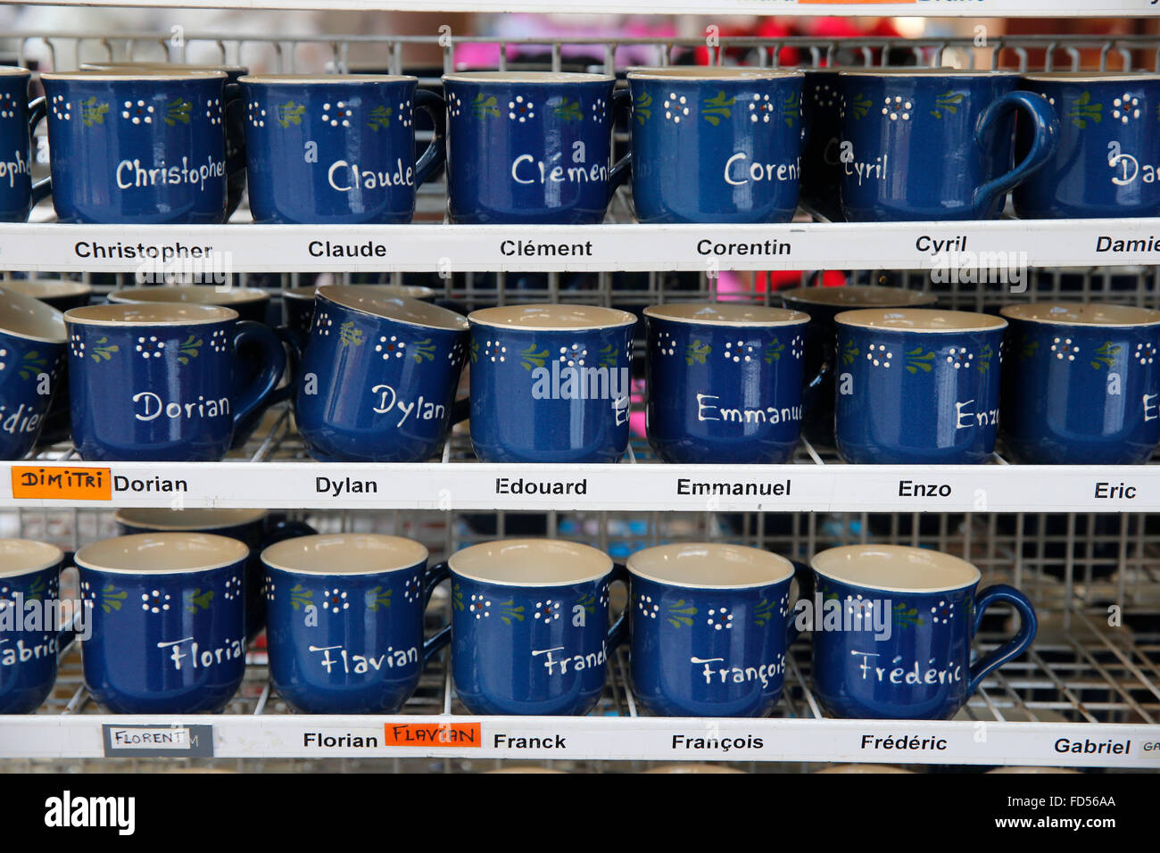 Name-bearing cups. - Stock Image
