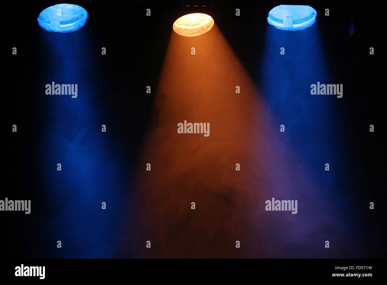 Stage lights. - Stock Image