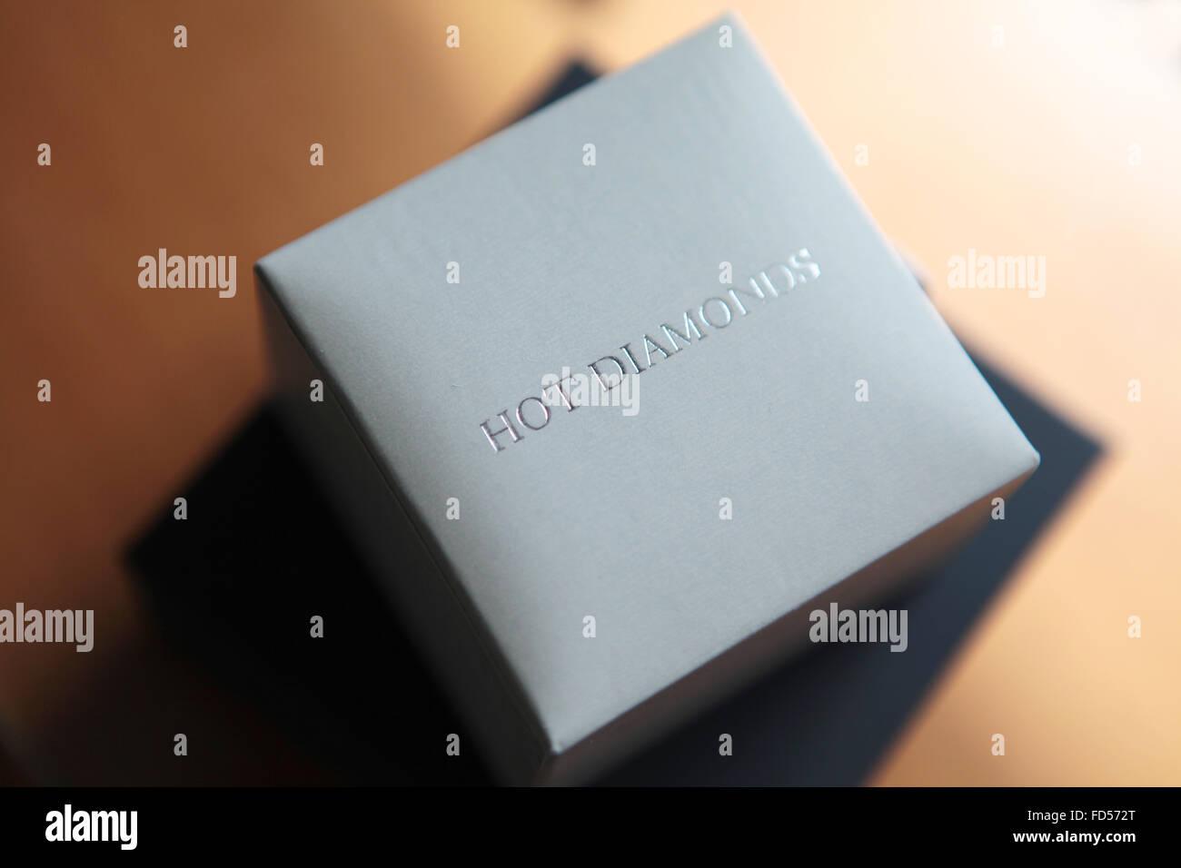 Hot Diamonds - Stock Image