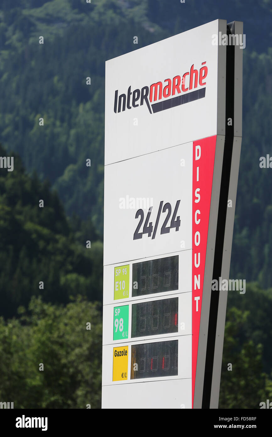 Gasoline station. - Stock Image