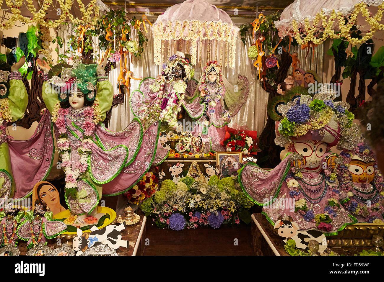 janmashtami krishna s birthday festival at the iskcon paris temple