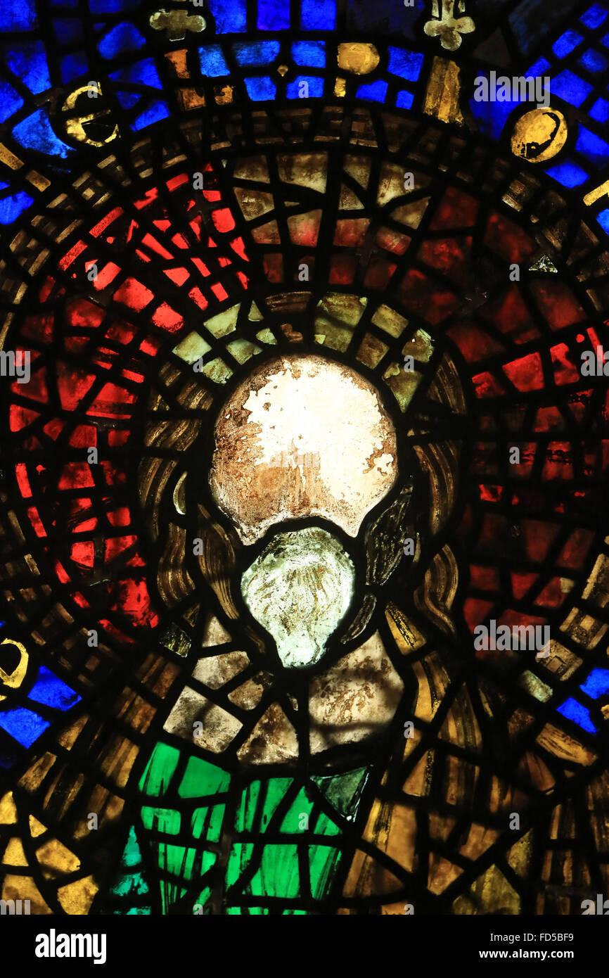 Prophet Ezekiel. Oeuvre Notre-Dame de Strasbourg Museum . - Stock Image