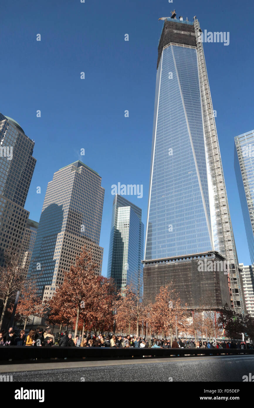 Freedom Tower Construction Stock Photos & Freedom Tower ...