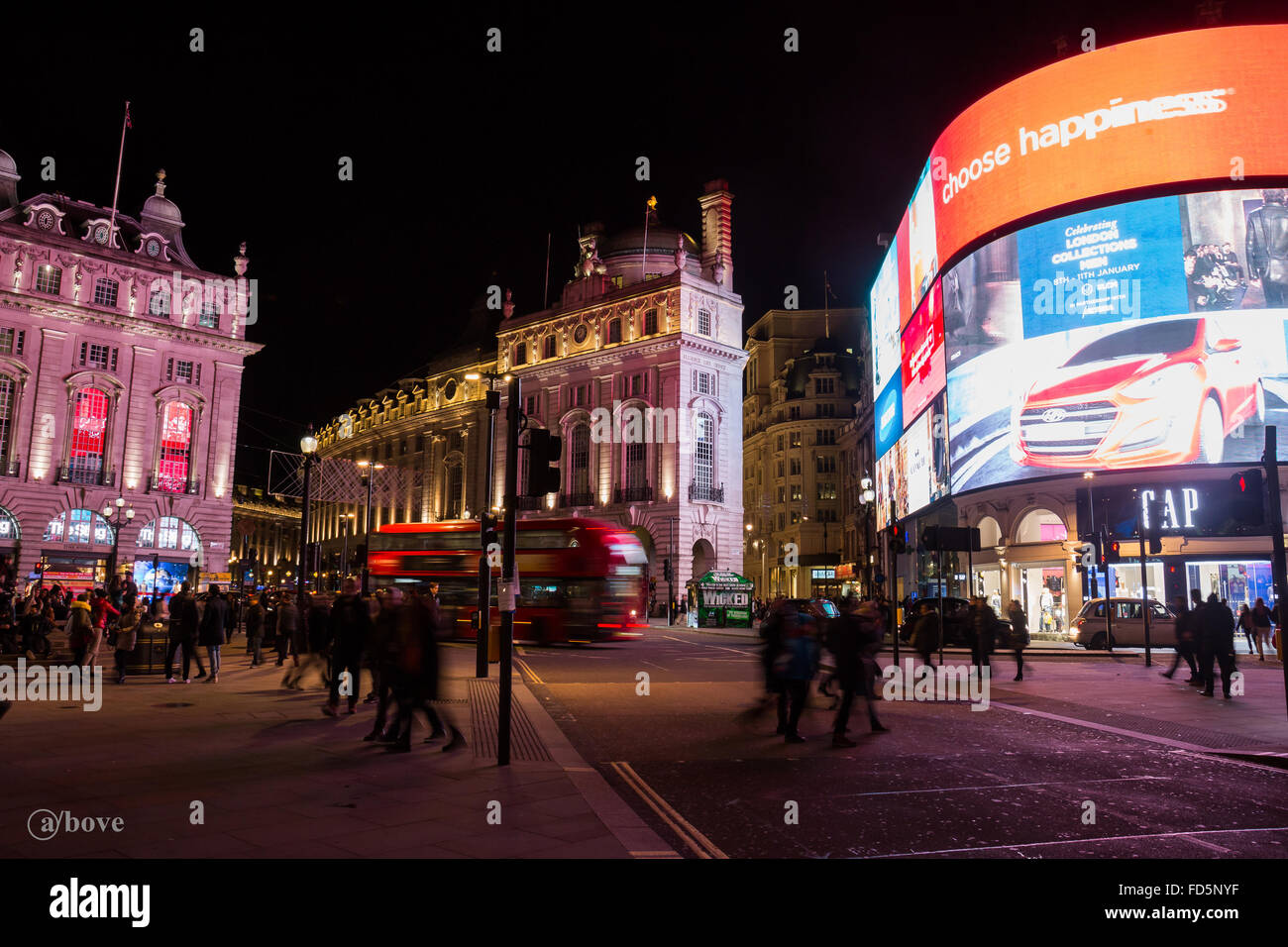 Piccadily Circus - Stock Image