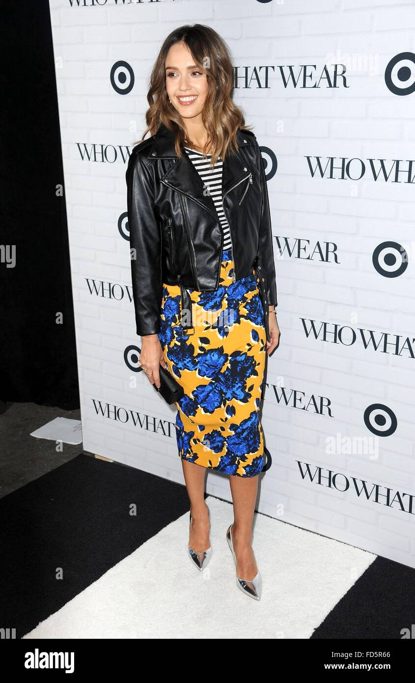 8915310d2f 27th Jan, 2016. Jessica Alba at arrivals for Target Who What Wear Launch  Party, ArtBeam, New York, NY January 27, 2016.
