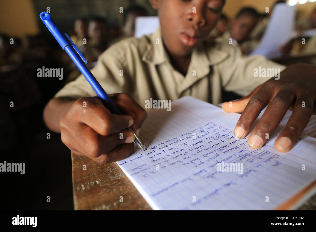 Grammar course. Primary School. - Stock Image