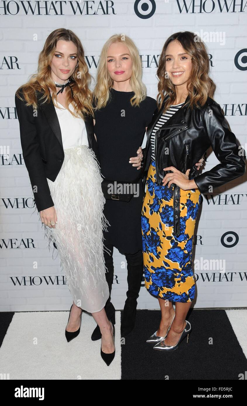 a4c7960e05 Jaime King, Jessica Alba, Kate Bosworth at arrivals for Target Who What Wear  Launch Party, ArtBeam, New York, NY January 27, 2016.