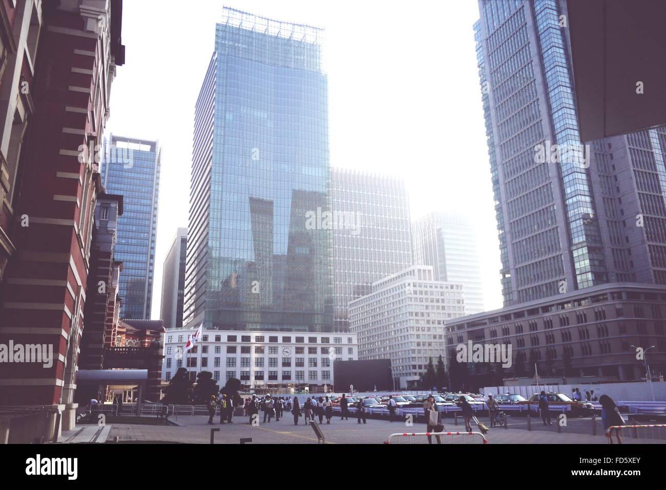 Modern City Buildings - Stock Image