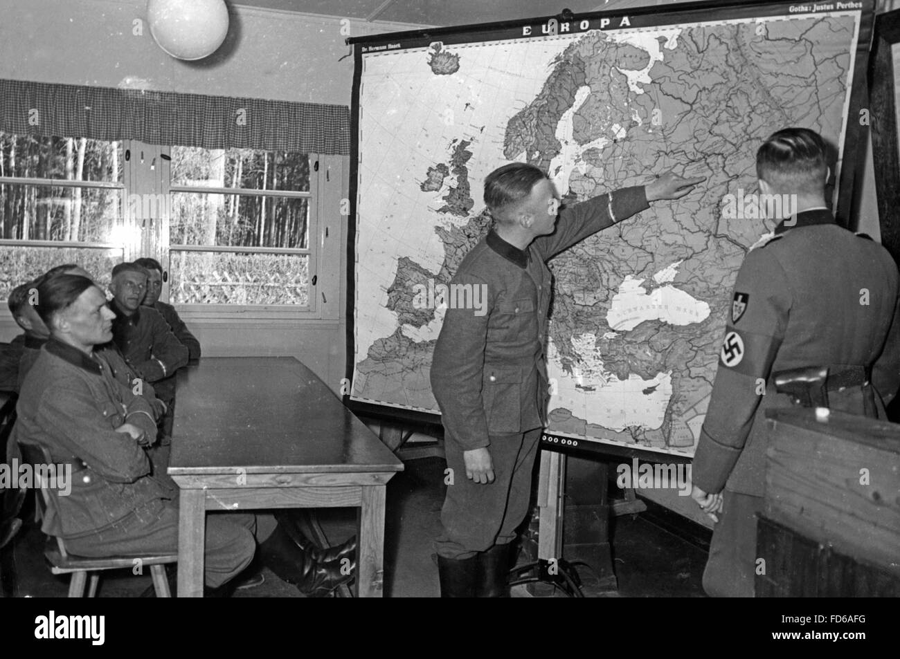 Foreigners course at the RAD-school in Braunschweig, 1942 - Stock Image