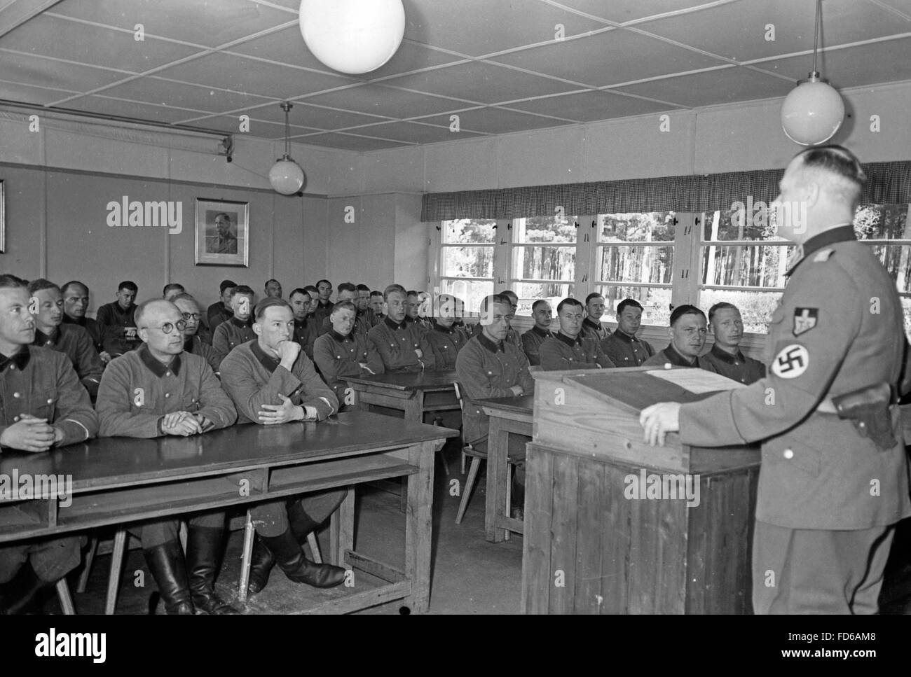 Foreigners course of the RAD in Braunschweig, 1942 - Stock Image