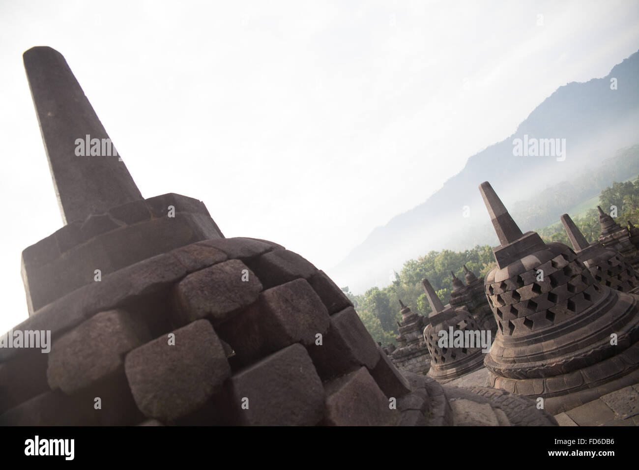 Built Structures Against The Sky - Stock Image