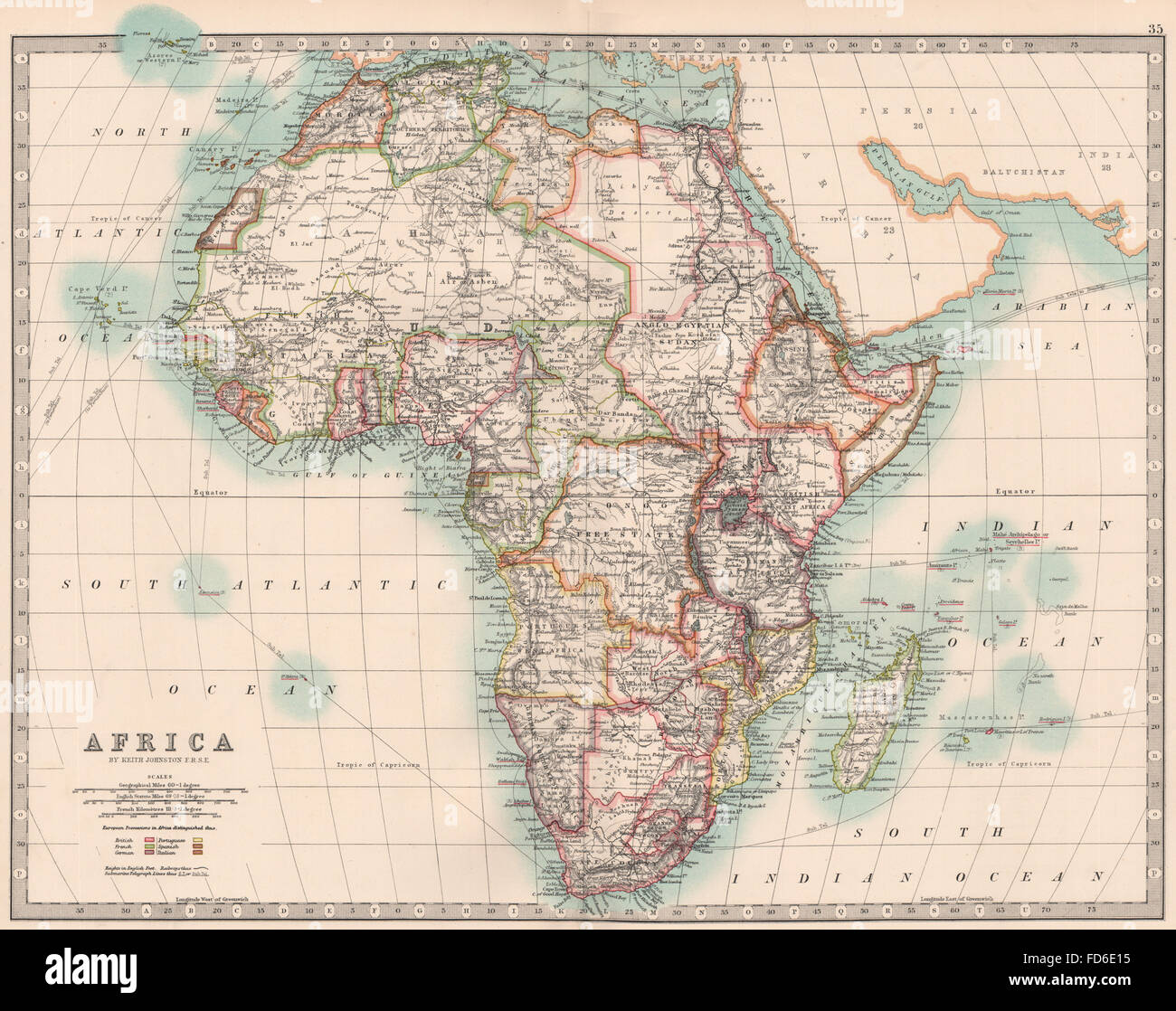 Map Of Africa French.Africa French Colonial Map Stock Photos Africa French Colonial Map