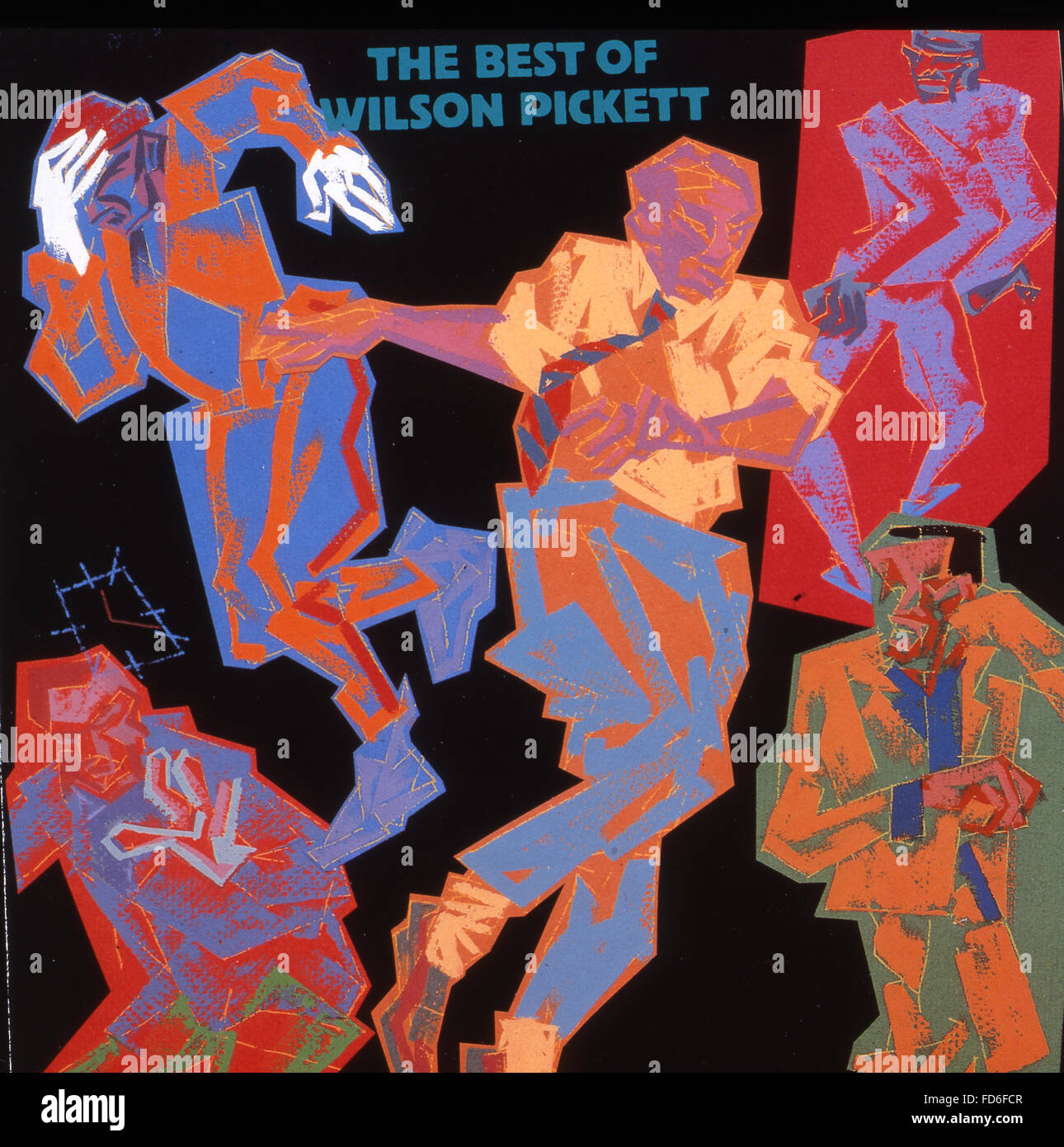 WILSON PICKETT (1941-2006) American R&B musician about. Cover of his 1967 album - Stock Image