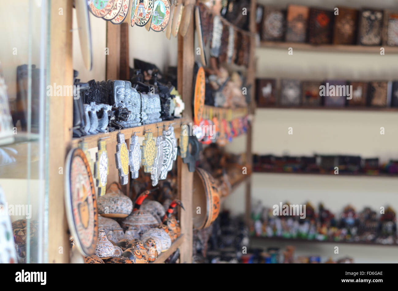 Showpieces For Sale At A Store - Stock Image