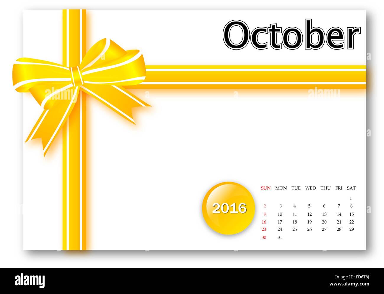 Calendar Ribbon Design : Calendar stock photos images