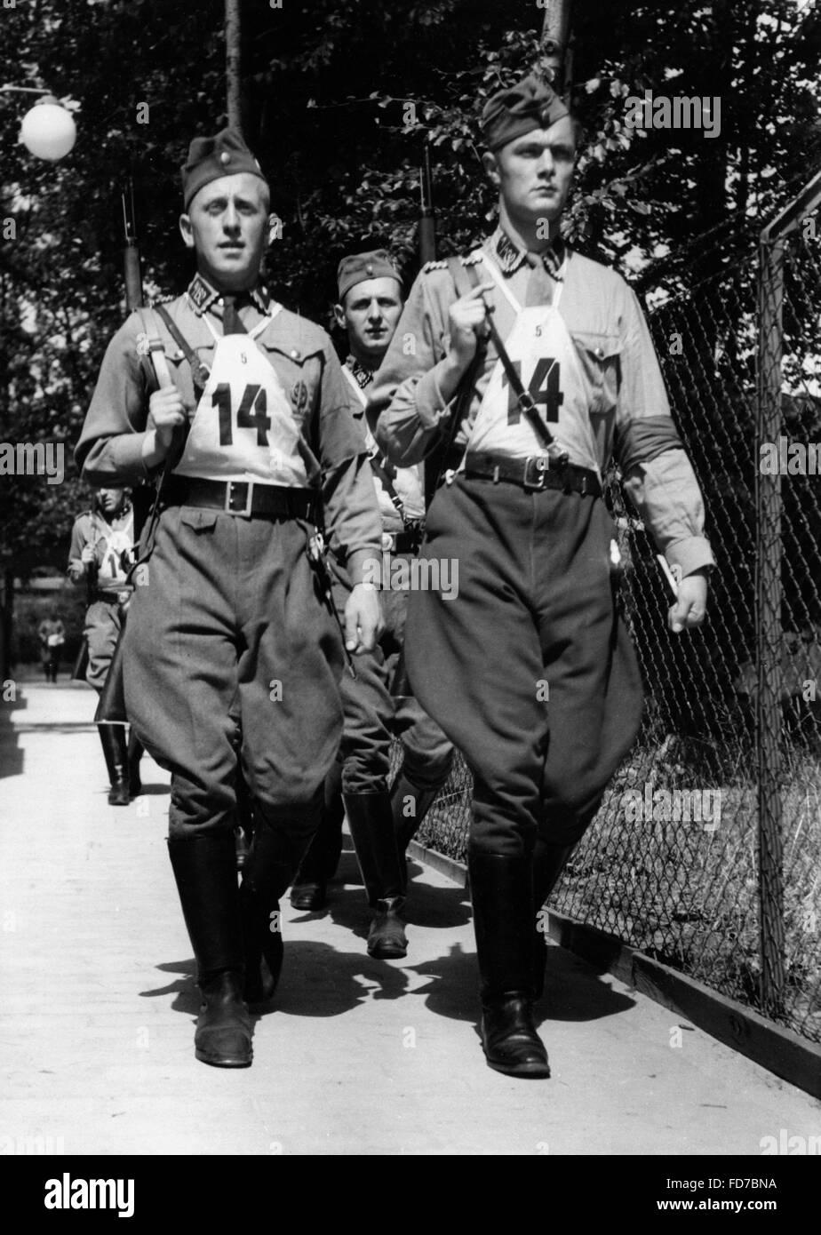SA small caliber shooters, 1938 - Stock Image
