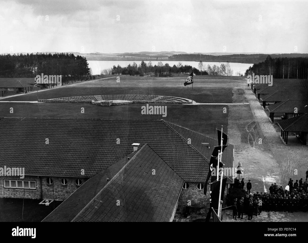 Ordensburg Kroessinsee in Pomerania, 1936 - Stock Image